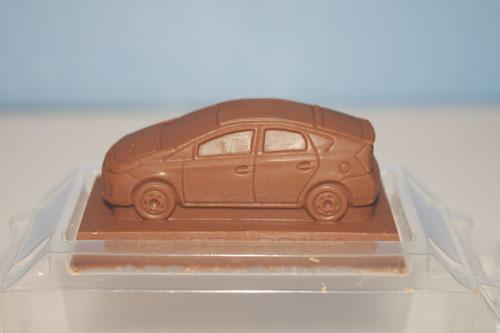 チョコレートの車